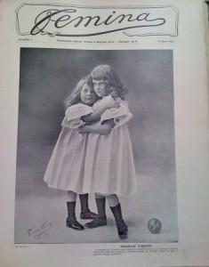 Fémina, couverture du n°4, 15 mars 1901.