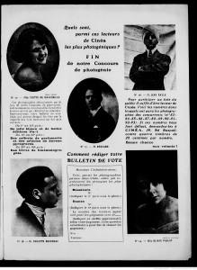 Cinéa, 1923